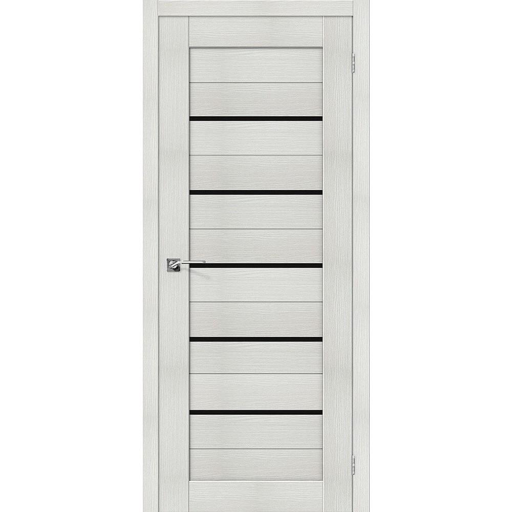 Межкомнатная дверь Порта-22 Bianco Veralinga/Black Star