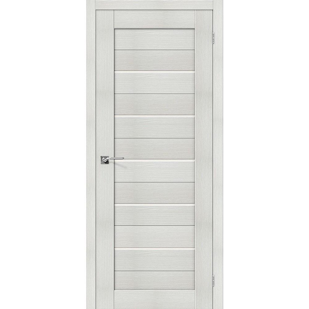 Межкомнатная дверь Порта-22 Bianco Veralinga/Magic Fog