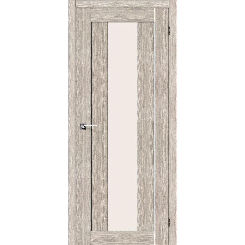 Межкомнатная дверь Порта-25 alu Cappuccino Veralinga/Magic Fog