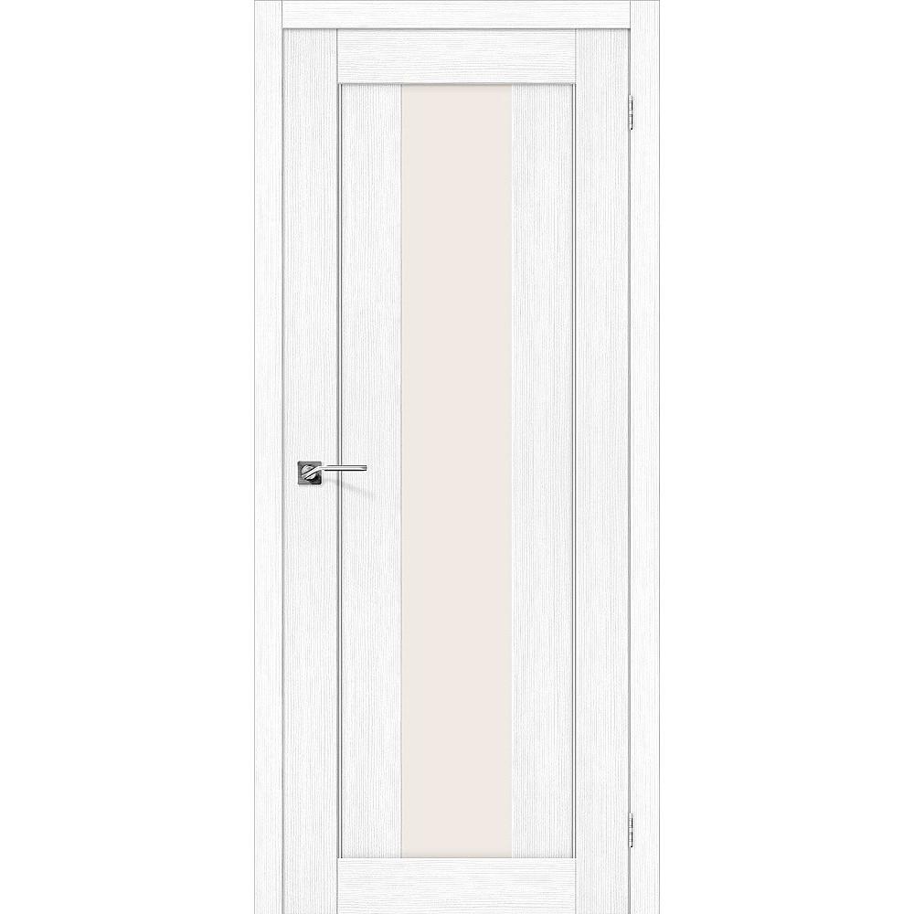 Межкомнатная дверь Порта-25 alu Snow Veralinga/Magic Fog