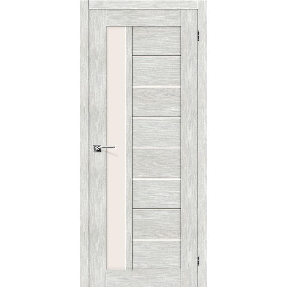 Межкомнатная дверь Порта-27 Bianco Veralinga/Magic Fog