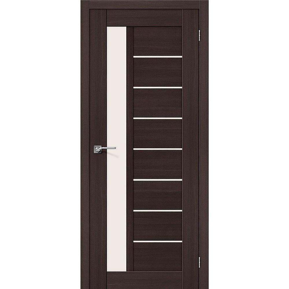 Межкомнатная дверь Порта-27 Wenge Veralinga/Magic Fog