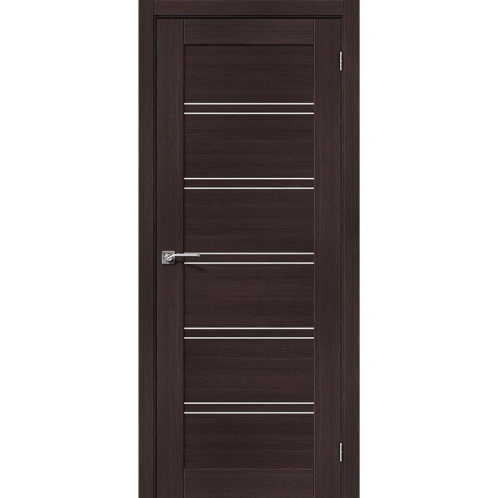 Межкомнатная дверь Порта-28 Wenge Veralinga/Magic Fog