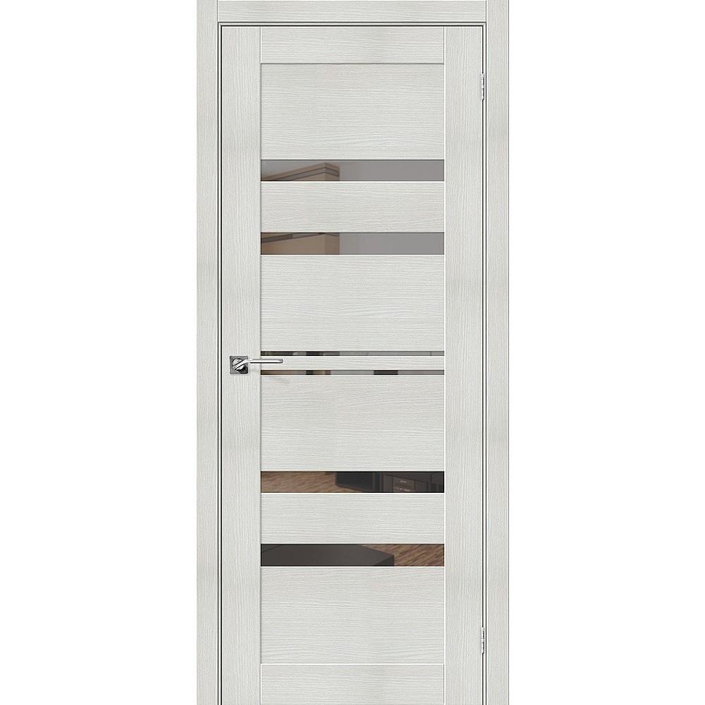 Межкомнатная дверь Порта-30 Bianco Veralinga/Mirox Grey