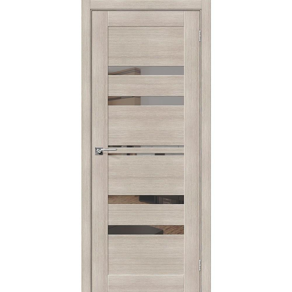 Межкомнатная дверь Порта-30 Cappuccino Veralinga/Mirox Grey