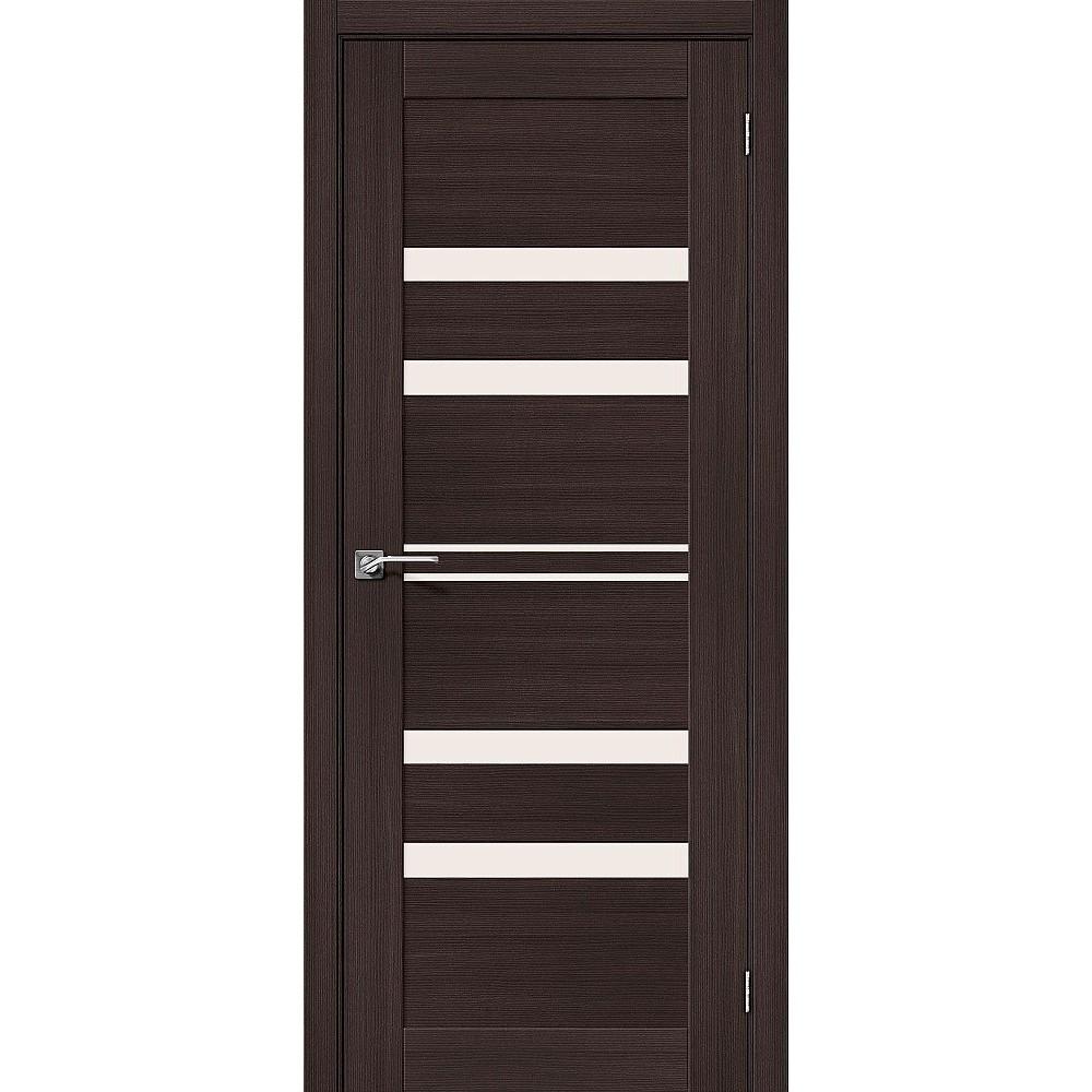 Межкомнатная дверь Порта-30 Wenge Veralinga/Magic Fog