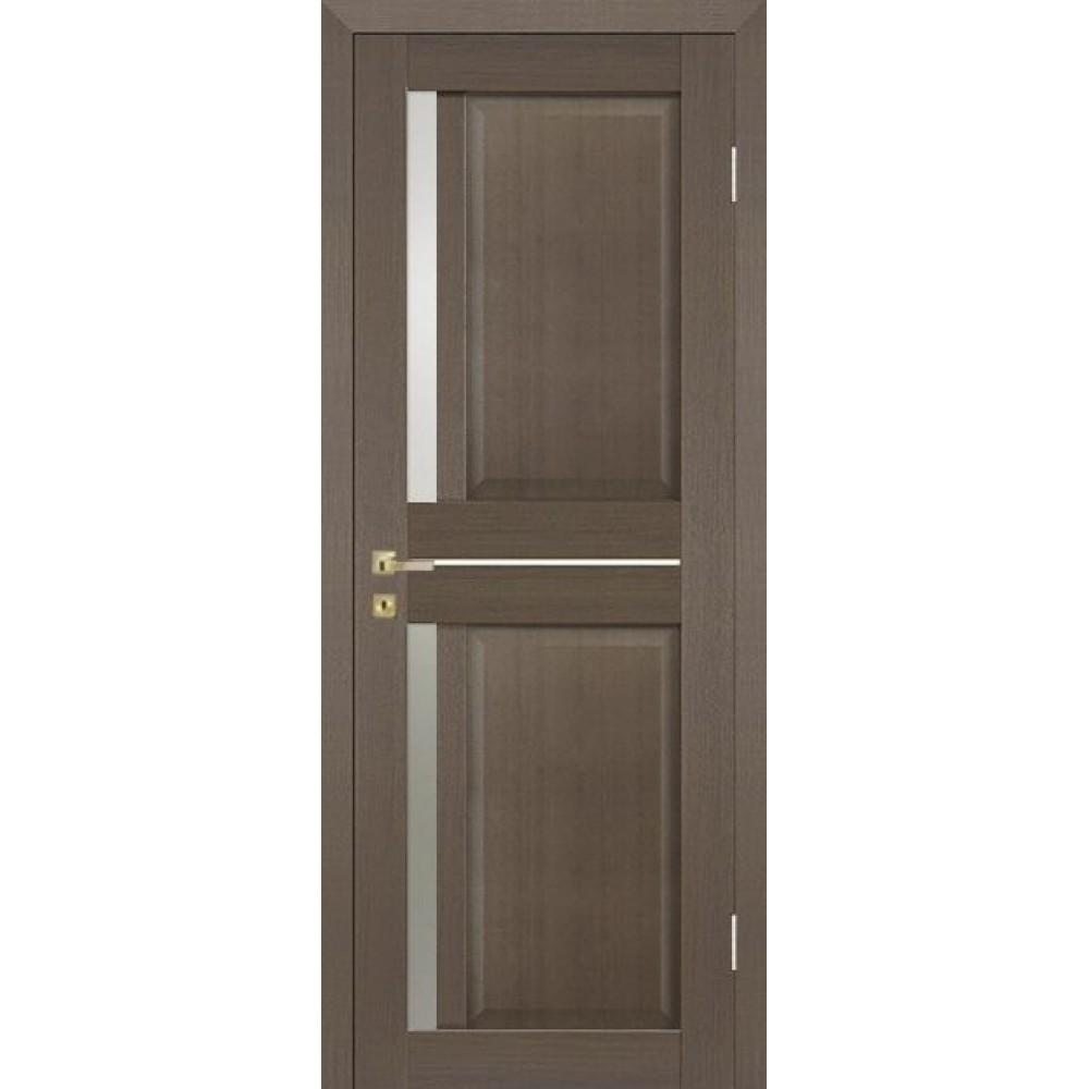 Межкомнатная дверь Крит дуб грей (серый)