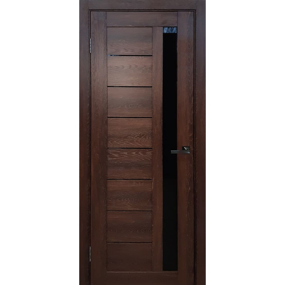 Межкомнатная дверь М-12 Дуб коньячный