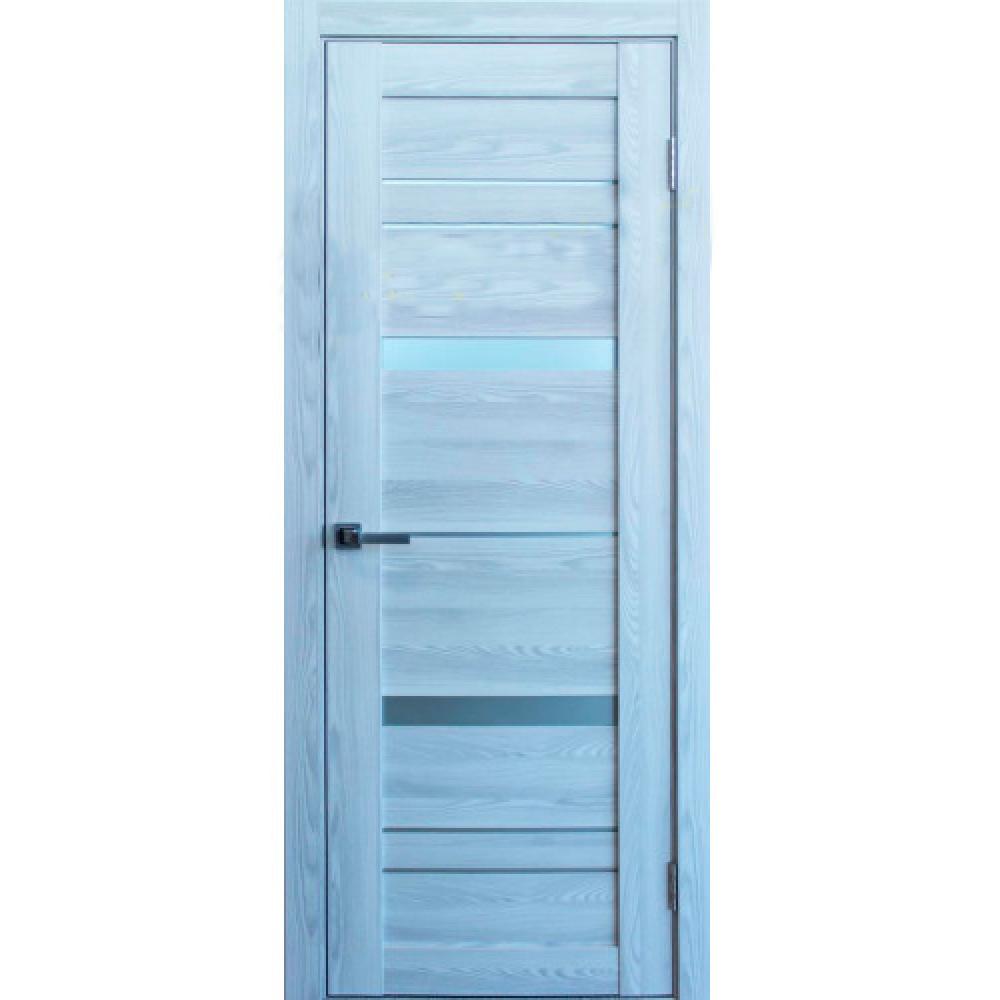 Межкомнатная дверь М-27 Ясень Ревьера Айс