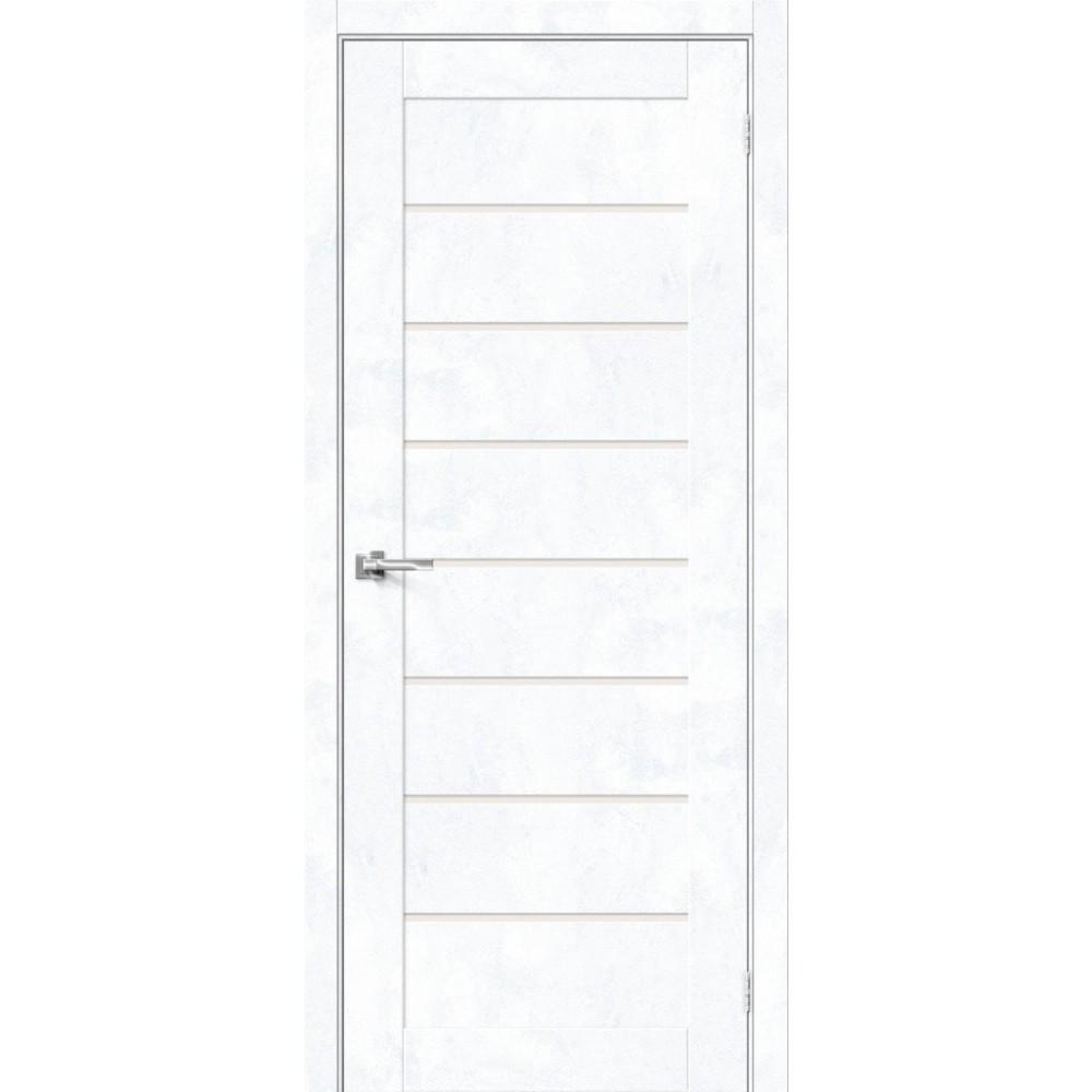 Межкомнатная дверь Браво-22 Snow Art / Magic Fog