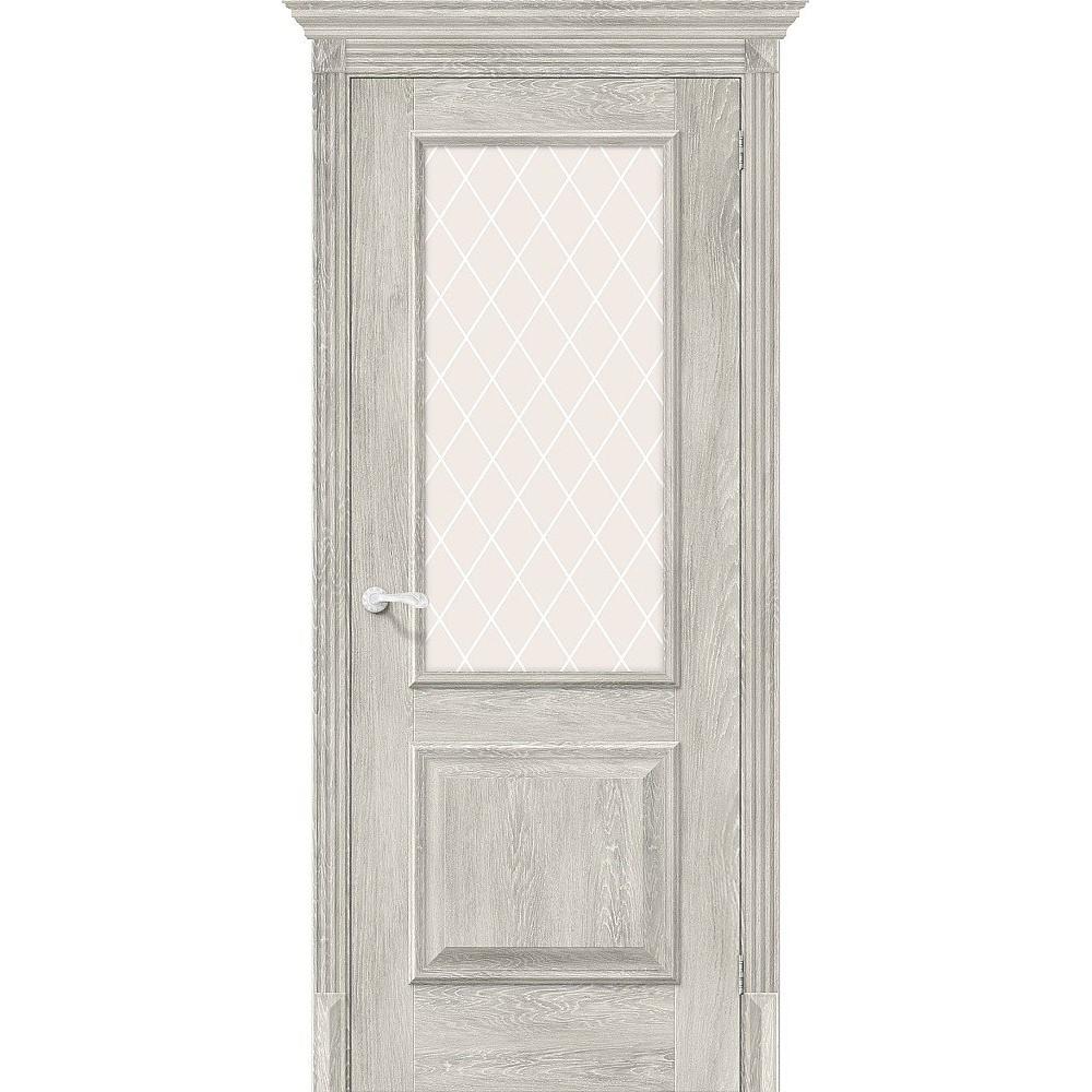 Межкомнатная дверь Классико-13 Chalet Provence/White Сrystal