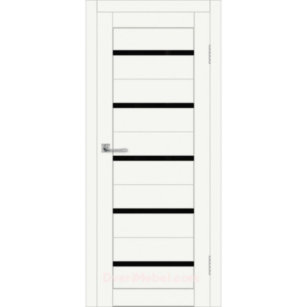 Межкомнатная дверь DIM I-1 CRYSTAL MATT LACOBEL BLACK