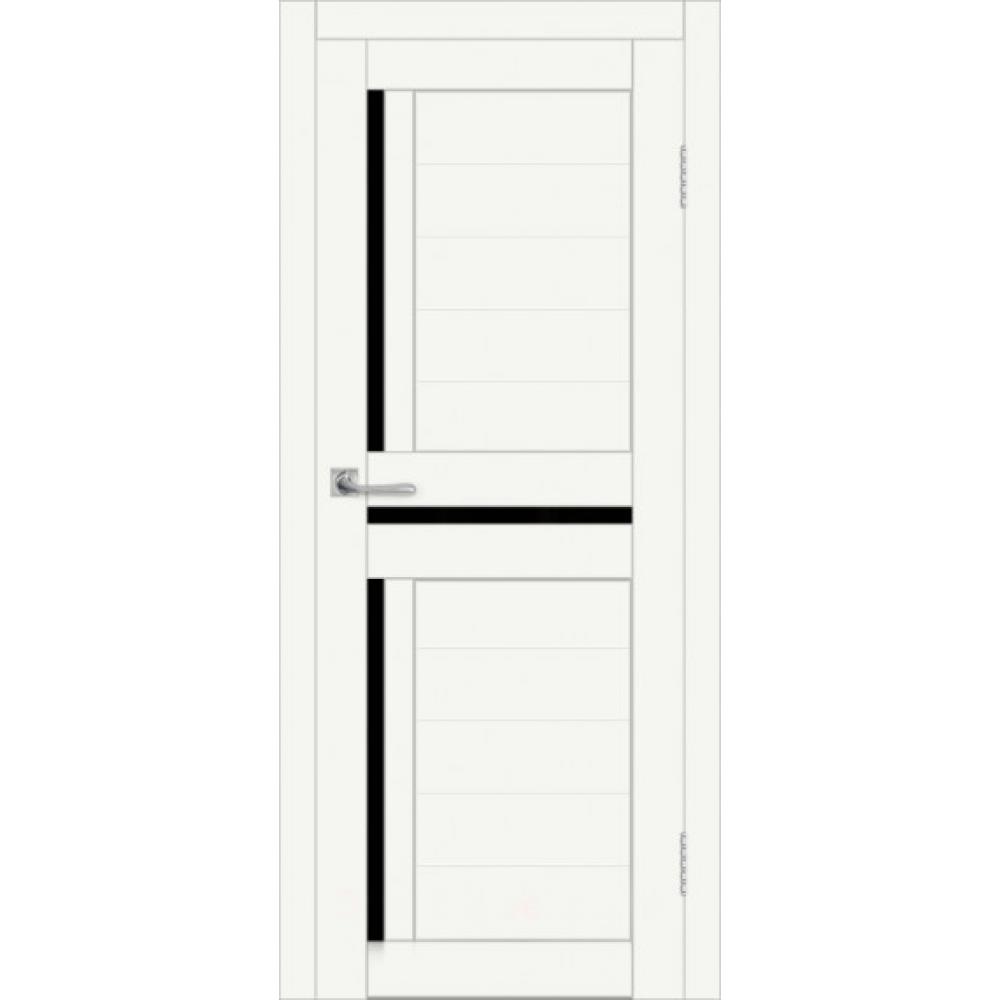 Межкомнатная дверь DIM I-5 CRYSTAL MATT LACOBEL BLACK
