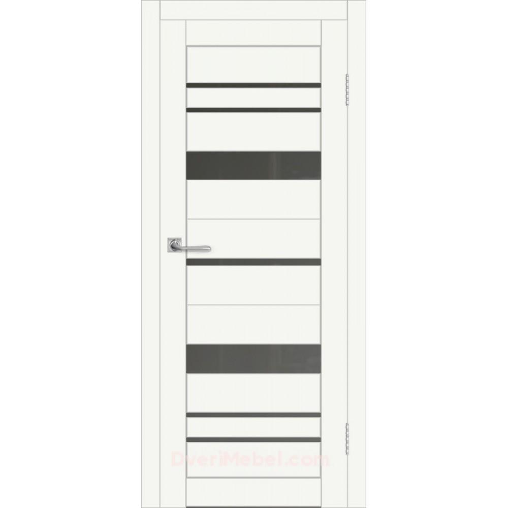Межкомнатная дверь DIM I-16 CRYSTAL MATT САТИНАТО ГРАФИТ в Белгороде