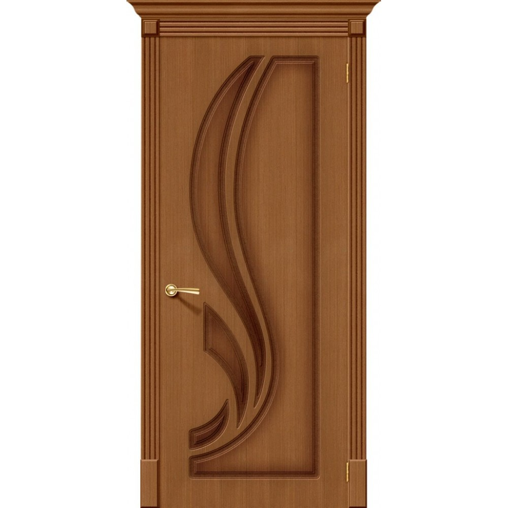 Межкомнатная дверь Лилия Ф-11 (Орех)
