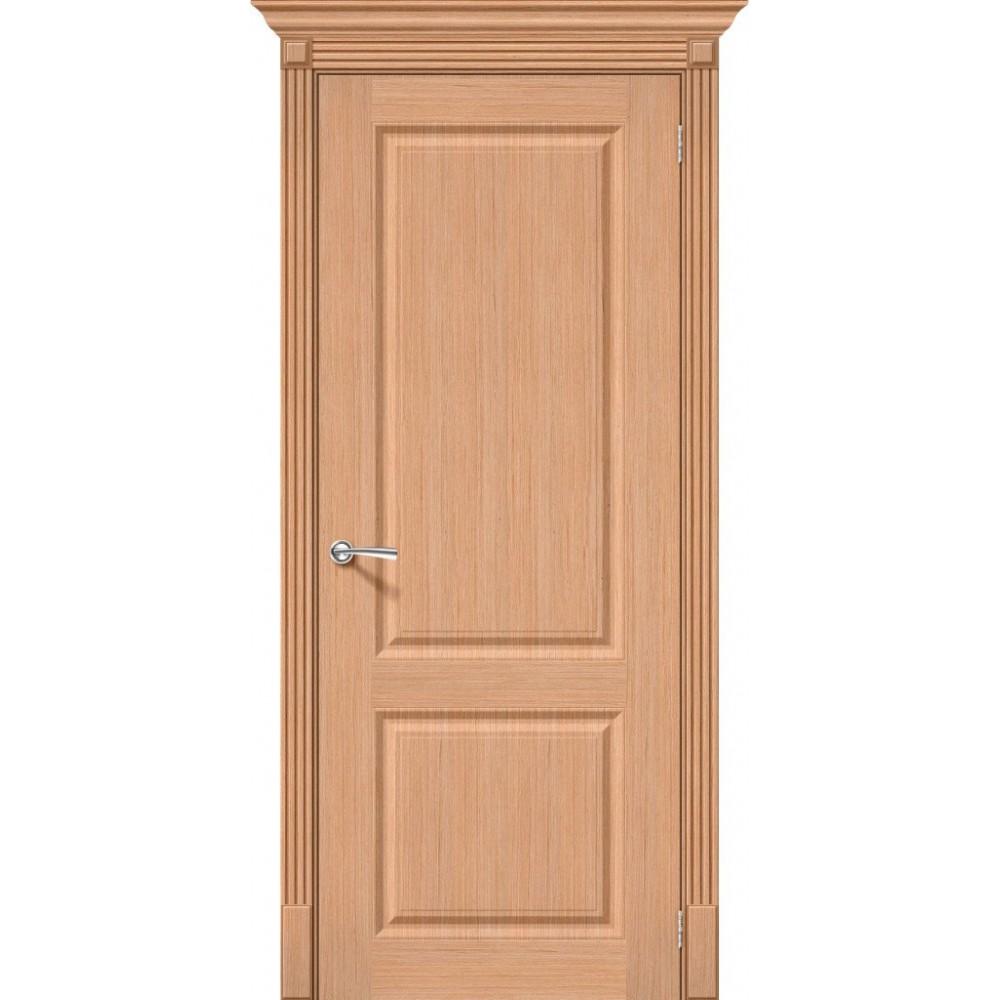 Межкомнатная дверь Статус-12 Ф-01 (Дуб)