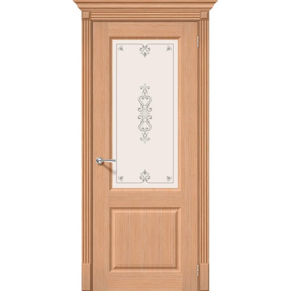 Межкомнатная дверь Статус-13 Ф-01 (Дуб)/Худ.