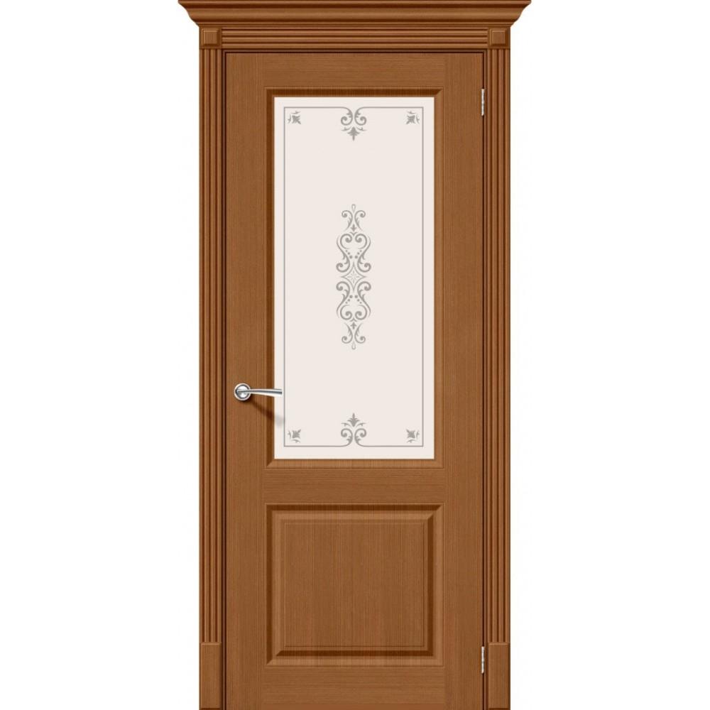 Межкомнатная дверь Статус-13 Статус-12 Ф-11 (Орех)