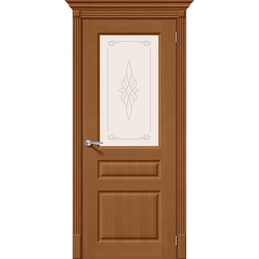 Межкомнатная дверь Статус-15 Ф-11 (Орех)/Худ.