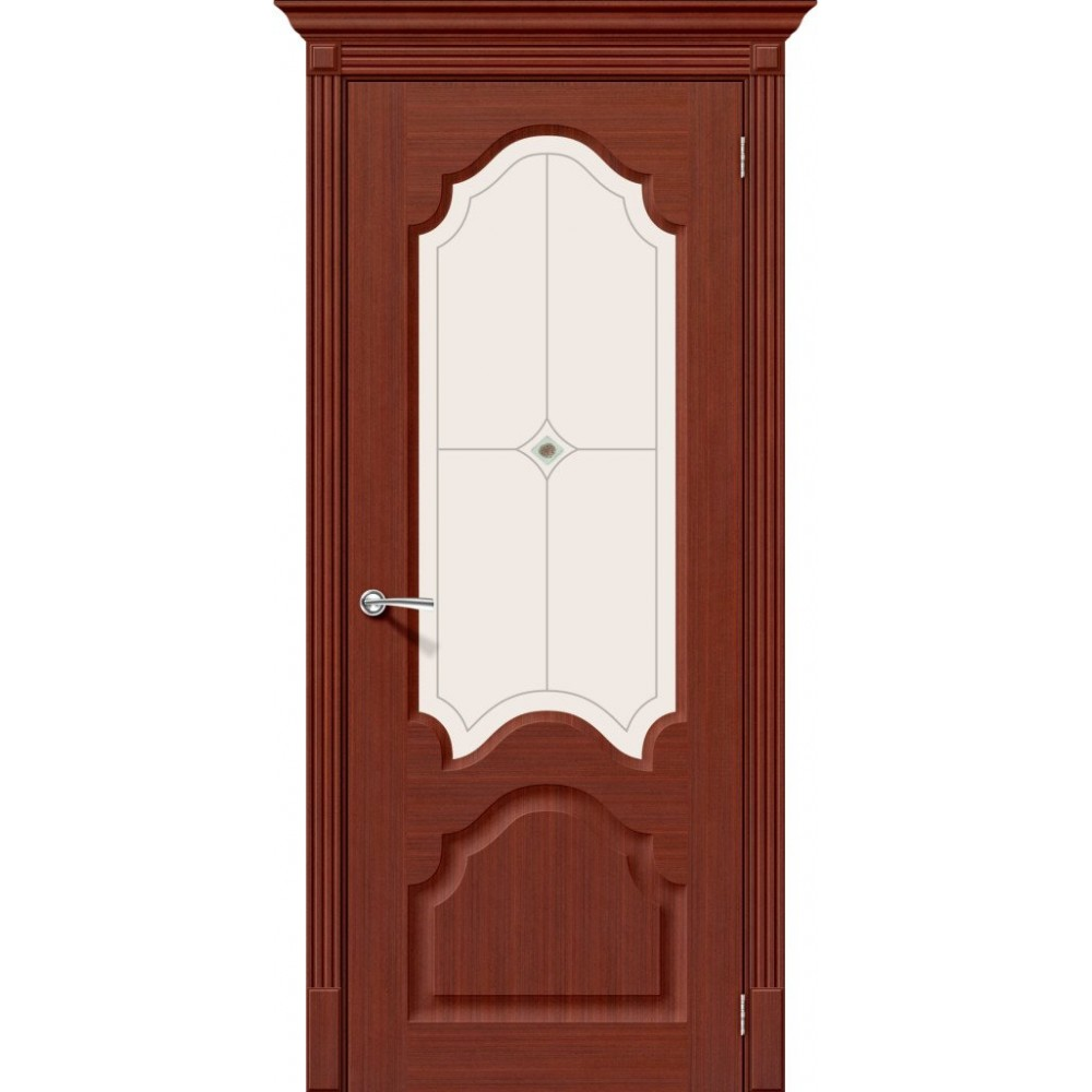 Межкомнатная дверь Афина Ф-22 Ф-15 (Макоре)/Худ.