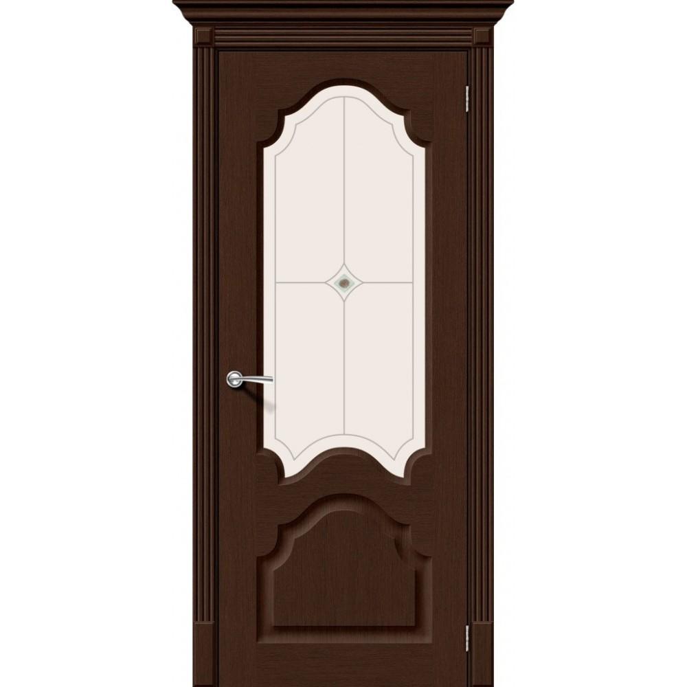 Межкомнатная дверь Афина Ф-27 (Венге)/Худ.