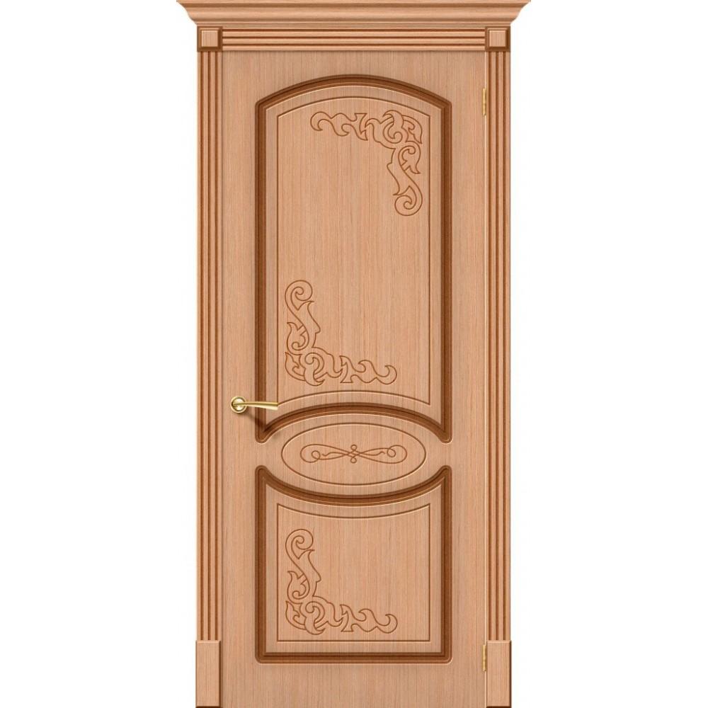 Межкомнатная дверь Азалия Ф-01 (Дуб)