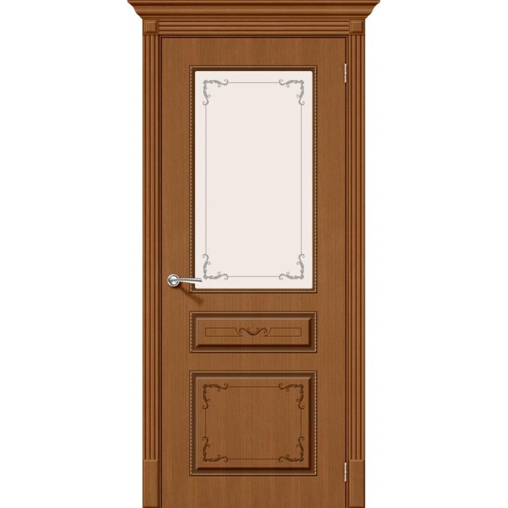 Межкомнатная дверь Классика Ф-11 (Орех)/Худ.