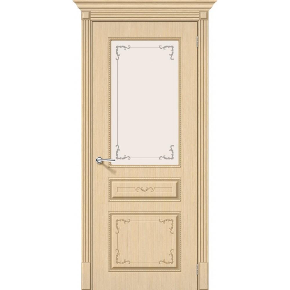 Межкомнатная дверь Классика Ф-22 (БелДуб)/Худ.