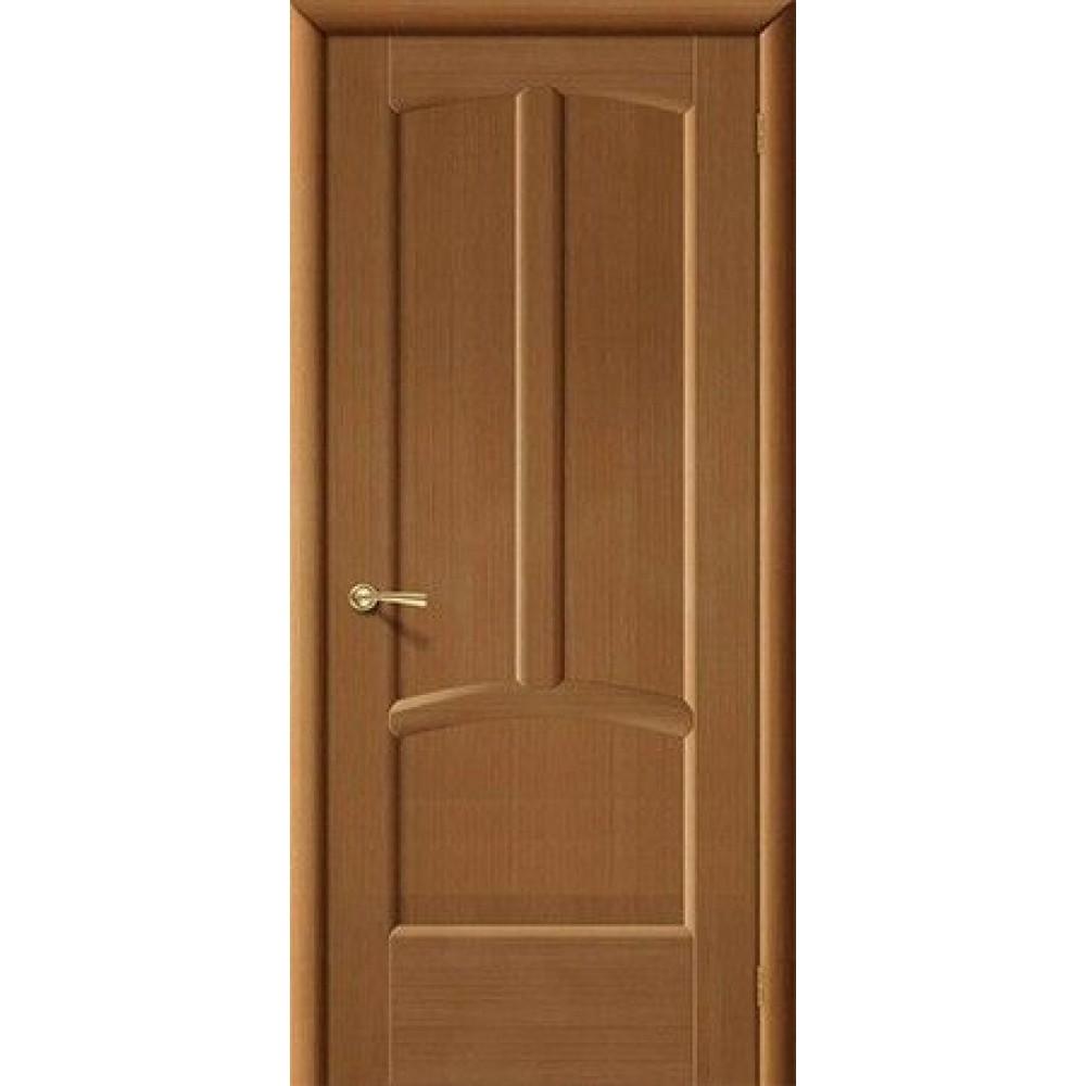 Межкомнатная дверь Ветразь орех глухая пр-ва Беларусь