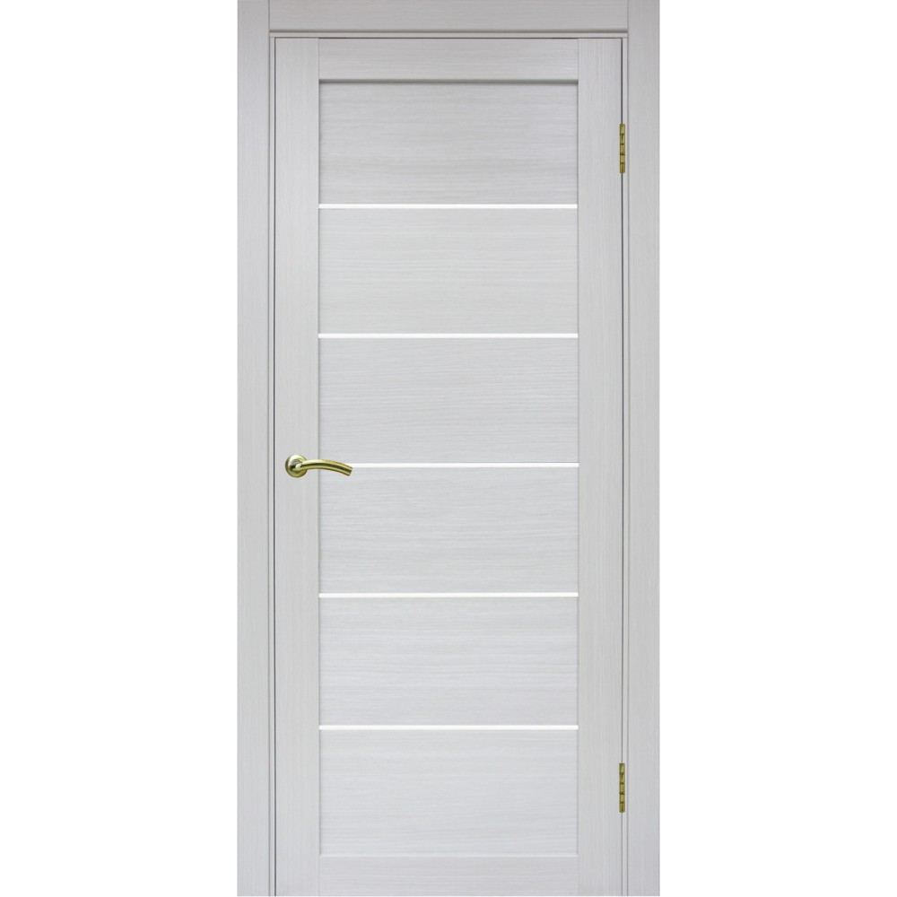 Межкомнатная дверь Турин 506 Ясень серебристый
