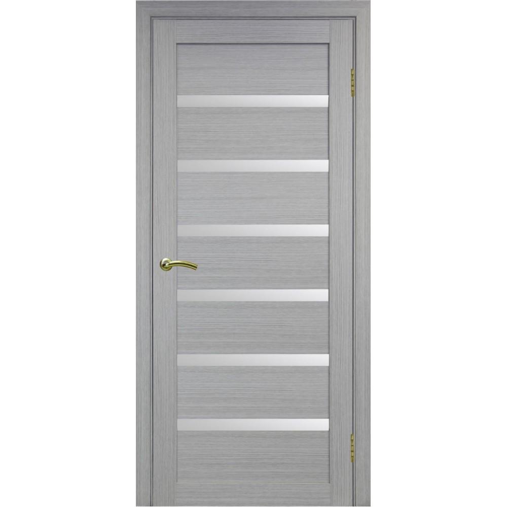 Межкомнатная дверь Турин 507 Дуб серый