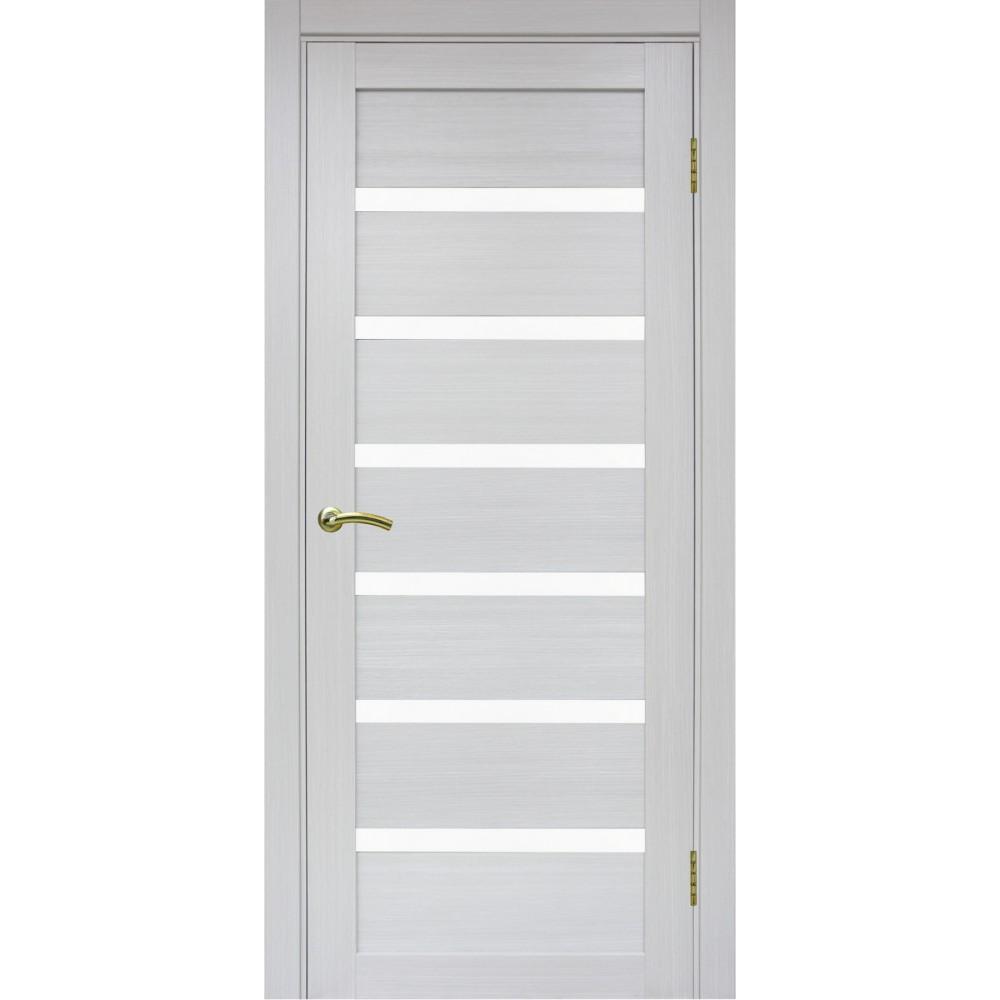 Межкомнатная дверь Турин 507 Ясень серебристый