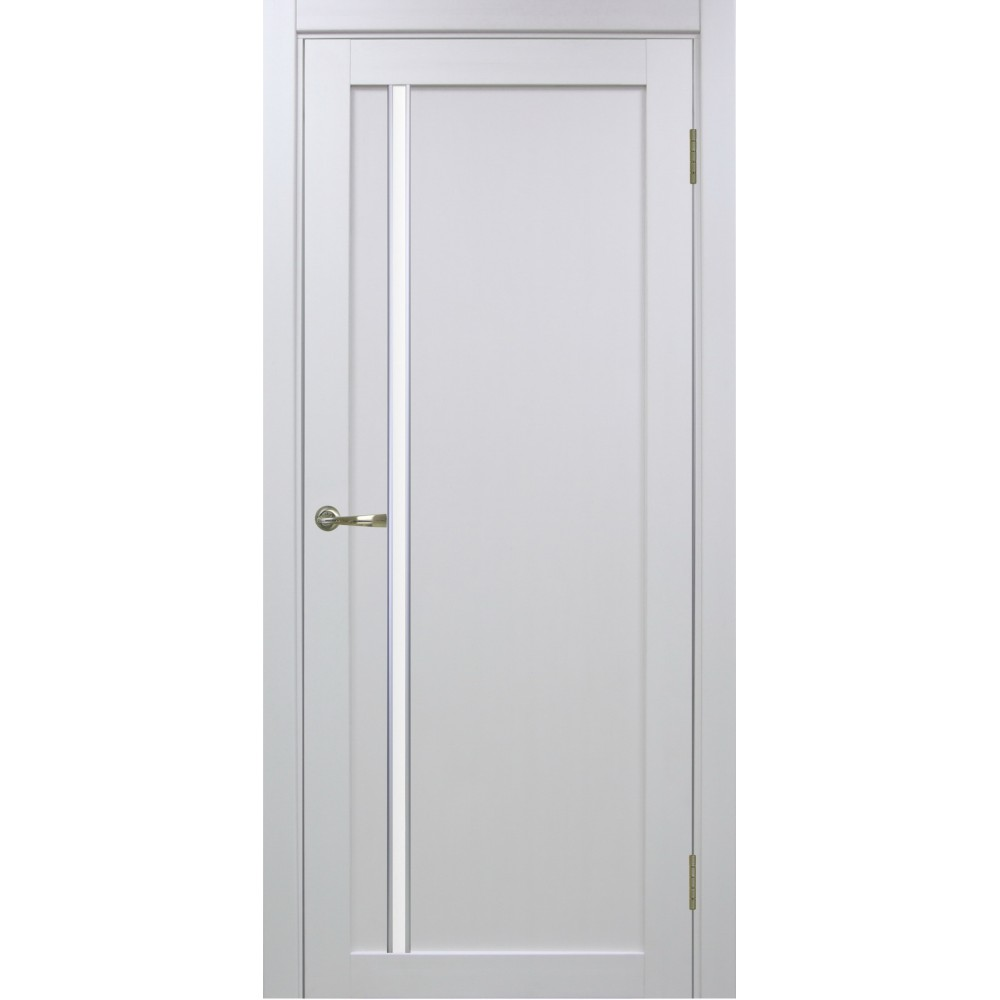 Межкомнатная дверь Турин 527АПС Молдинг SC Белый лёд
