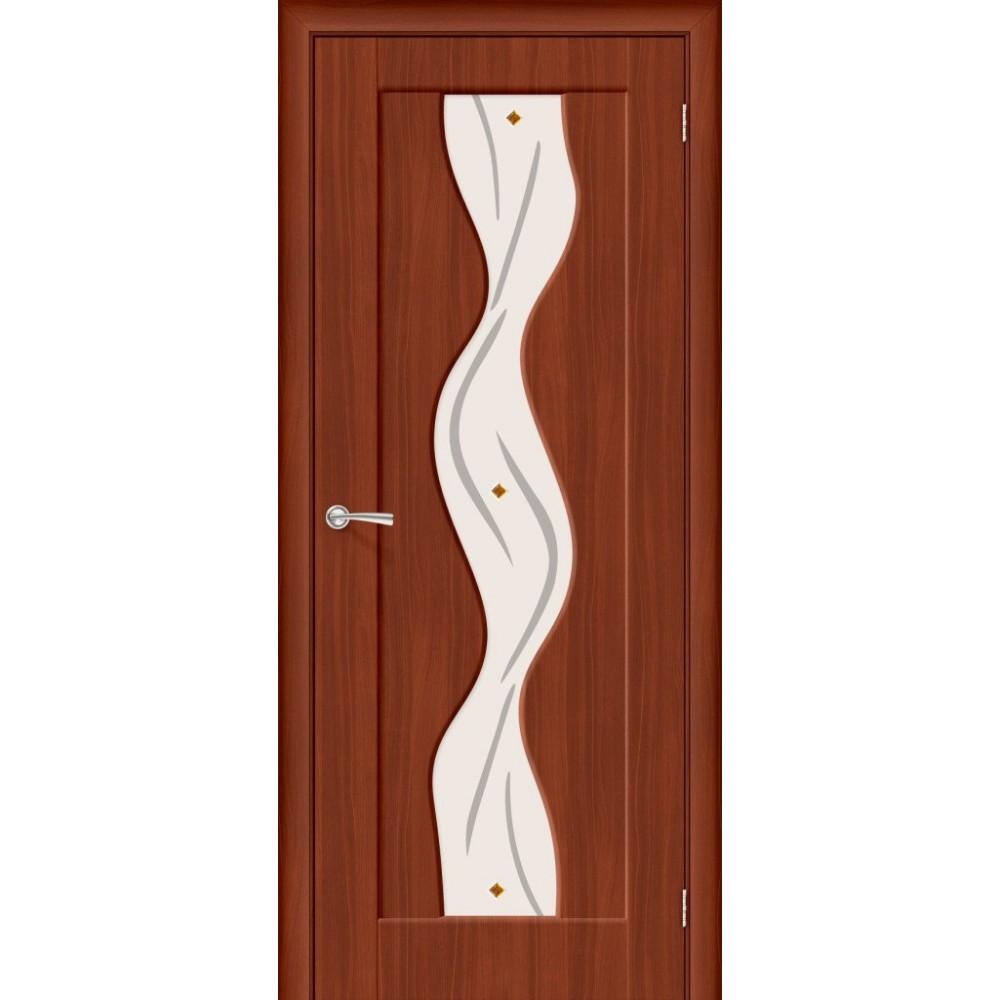 Межкомнатная дверь Вираж-2 Italiano Vero/Art Glass