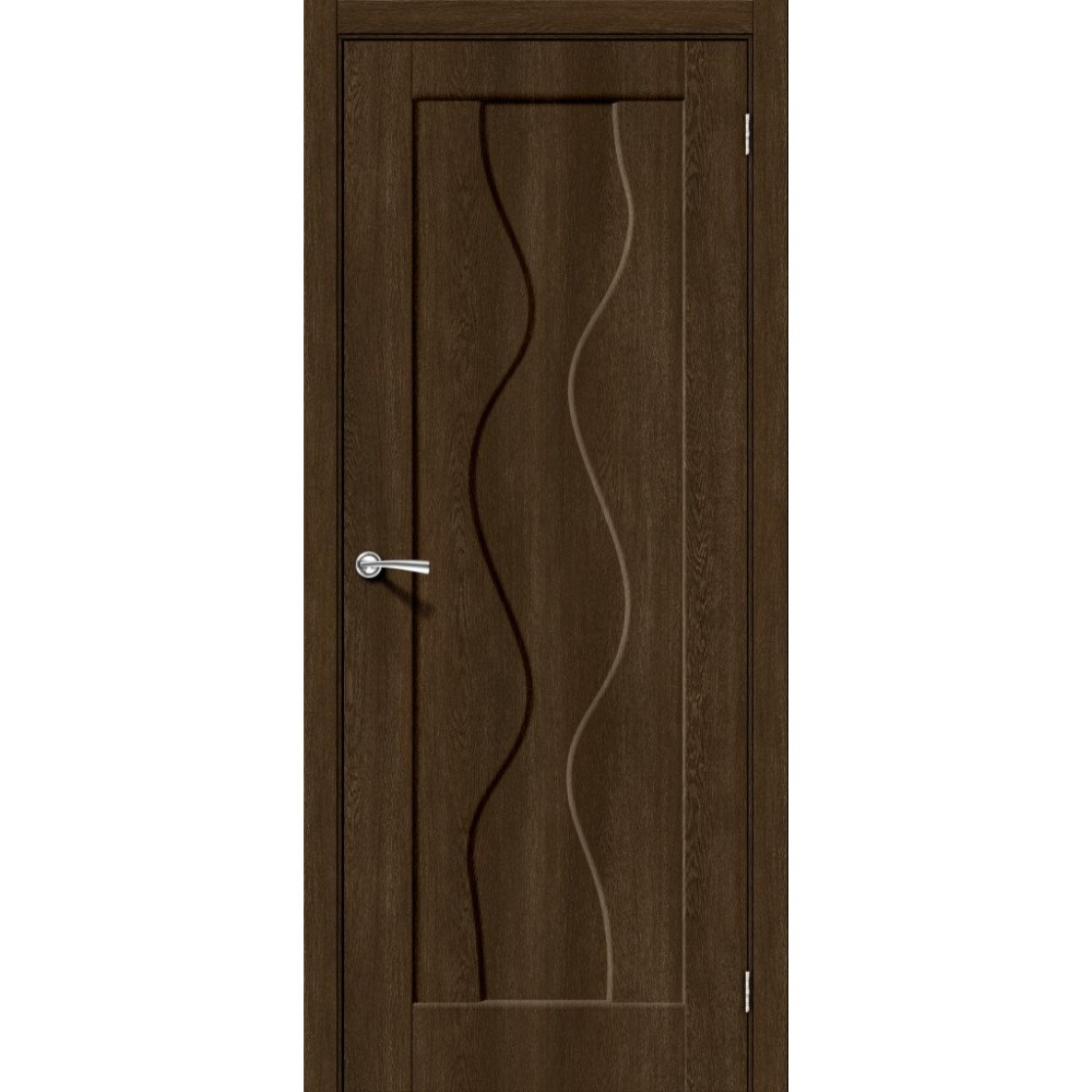 Межкомнатная дверь Вираж-1 Dark Barnwood