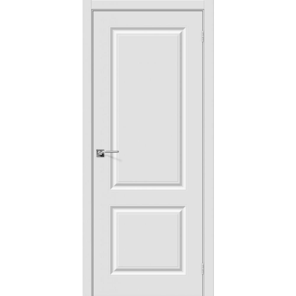 Межкомнатная дверь Скинни-12 П-23 (Белый)