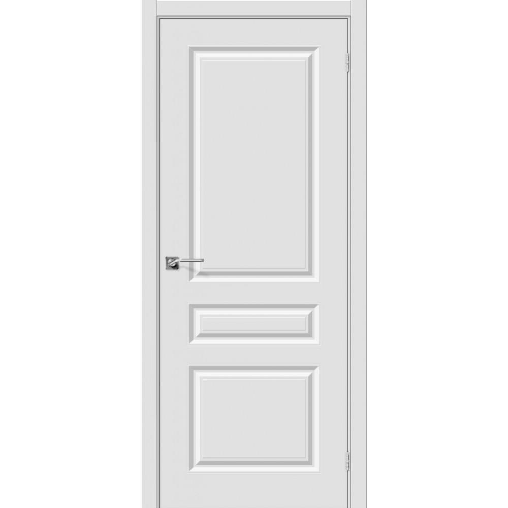 Межкомнатная дверь Скинни-14 П-23 (Белый)