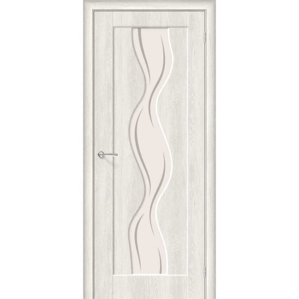 Межкомнатная дверь Вираж-2 Casablanca/Art Glass