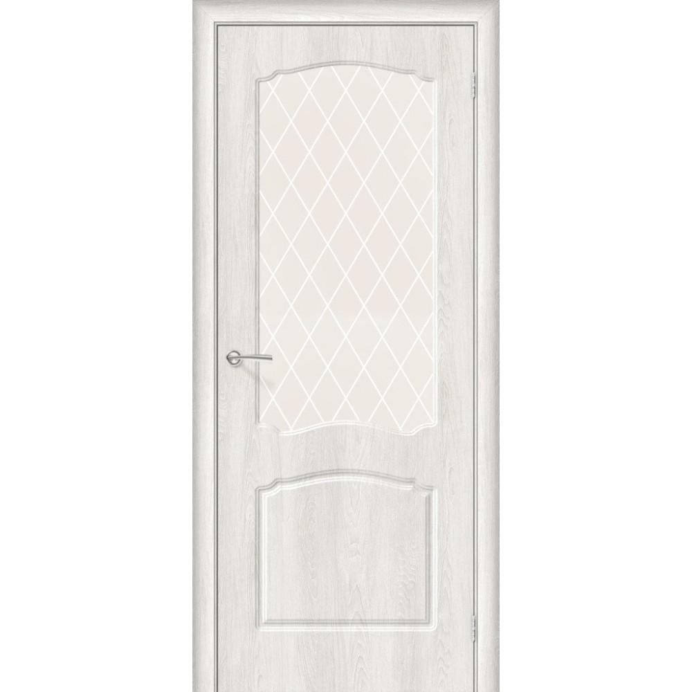 Межкомнатная дверь Альфа-2 Casablanca/White Сrystal