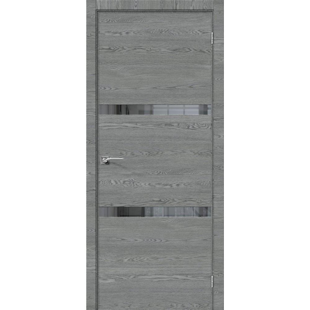 Межкомнатная дверь Порта-55 4AF West Skyline/Mirox Grey