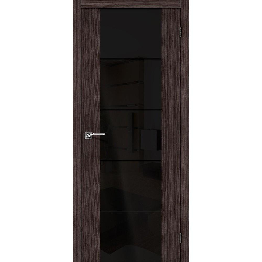 Межкомнатная дверь V4 BS Wenge Veralinga/Black Star