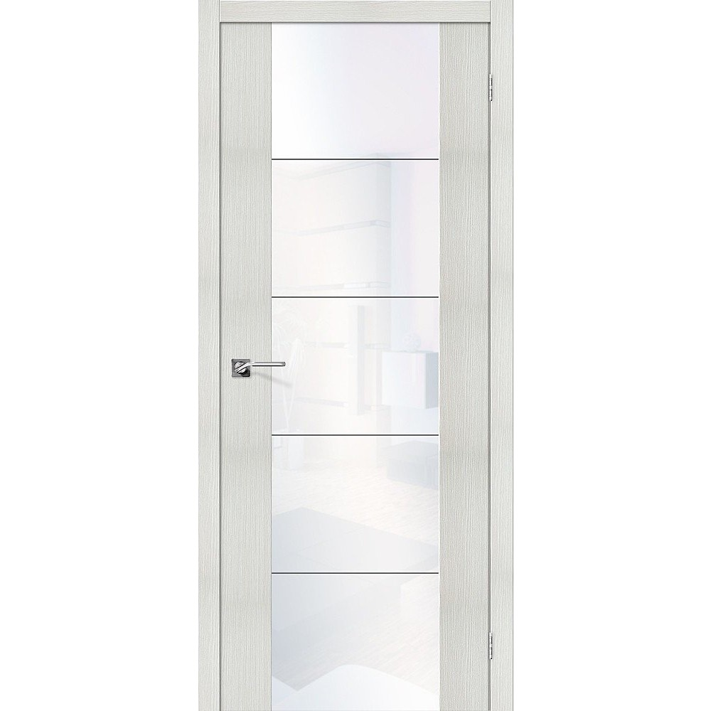 Межкомнатная дверь V4 WW Bianco Veralinga/White Waltz