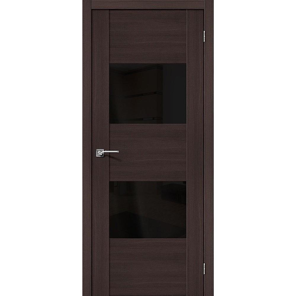 Межкомнатная дверь VG2 BS Wenge Veralinga/Black Star