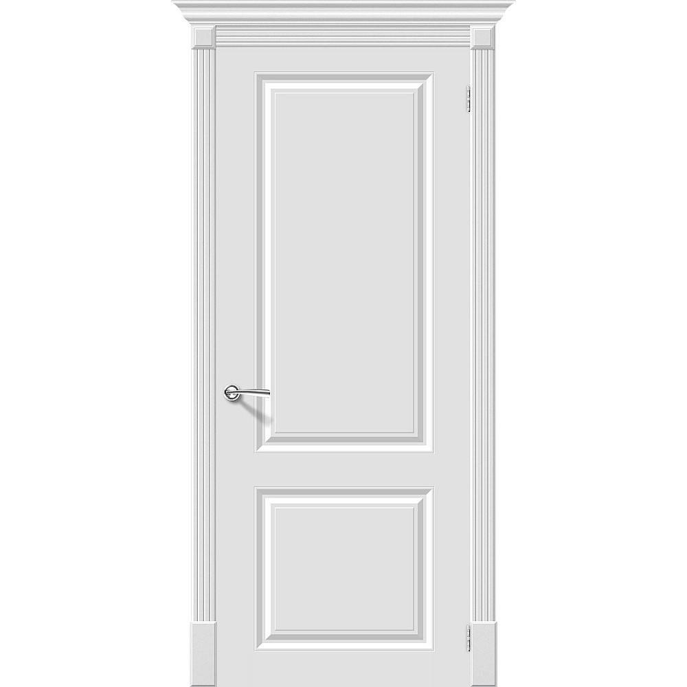 Межкомнатная дверь Скинни-12 Whitey