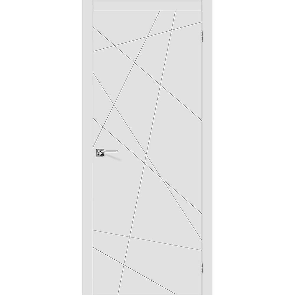 Межкомнатная дверь Скинни-5 Whitey