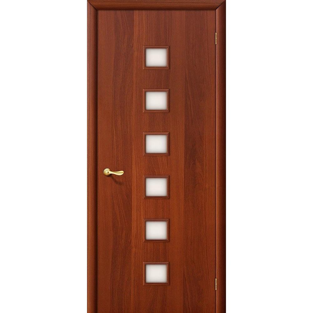 Межкомнатная дверь 1C Л-11 (ИталОрех)/Сатинато