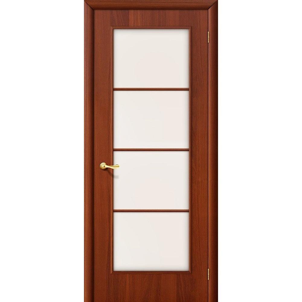 Межкомнатная дверь 10С Л-11 (ИталОрех)/Сатинато