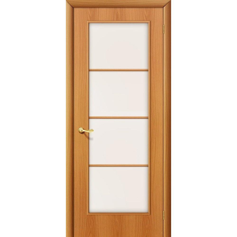 Межкомнатная дверь 10С Л-12 (МиланОрех)/Сатинато