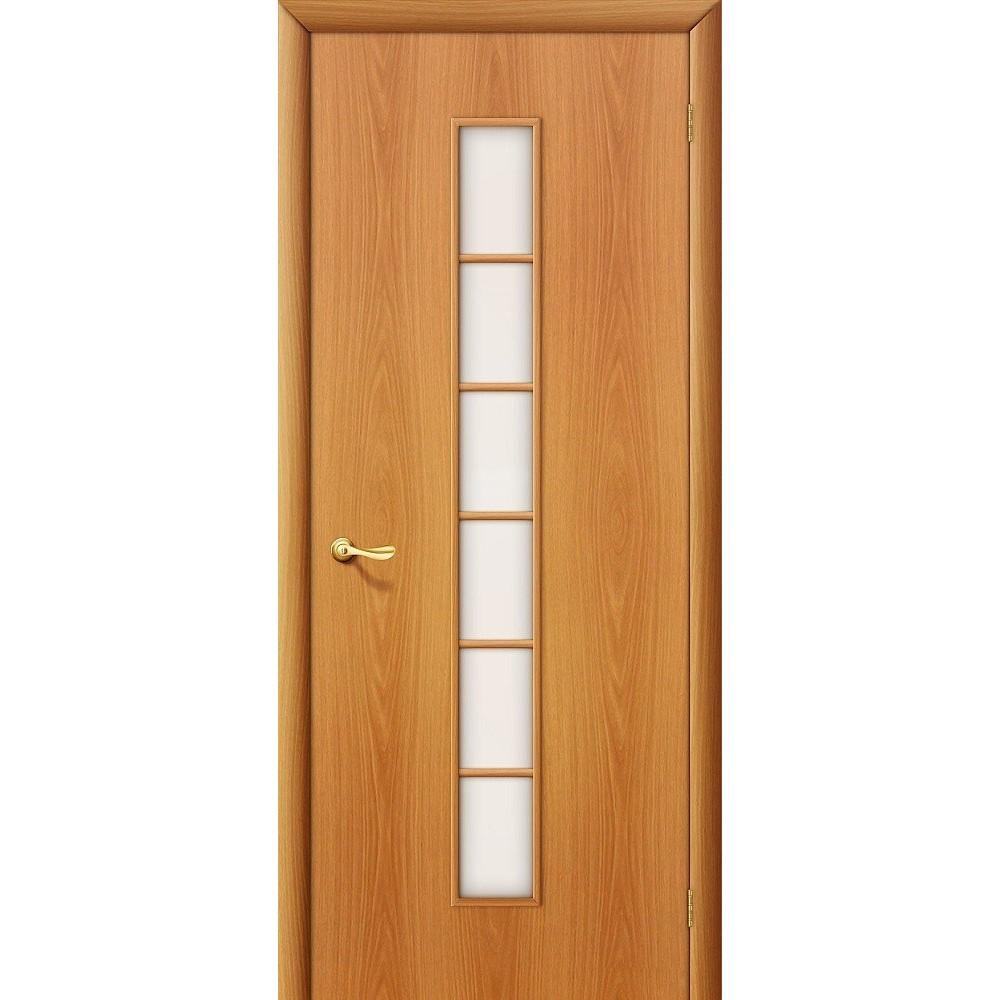 Межкомнатная дверь 2C Л-12 (МиланОрех)/Сатинато