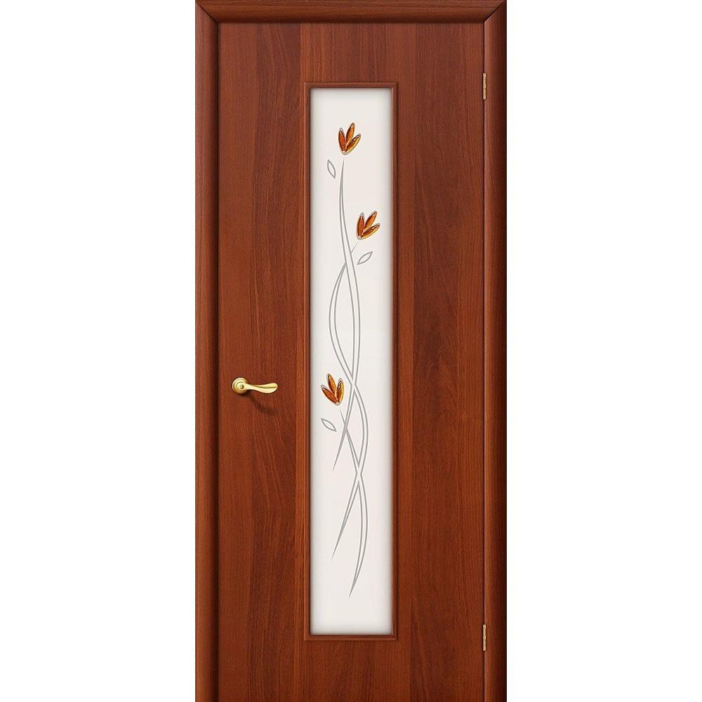 Межкомнатная дверь 22Х Л-11 (ИталОрех)/Фьюзинг
